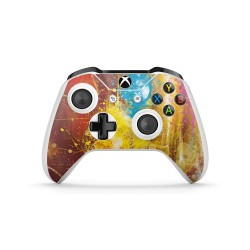 XBOX ONE S Controller Skin - Marvel Design Aufkleber Avengers Endgame - Red Attack