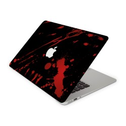Mac Book Air 13 Design Aufkleber - Blood Black