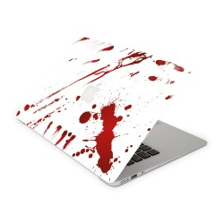 Mac Book Air 13 Design Aufkleber - Zombie Blood