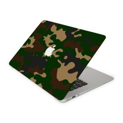 Mac Book Air 13 Design Aufkleber - Camouflage Green