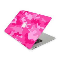 Mac Book Air 13 Design Aufkleber - Camouflage Pink