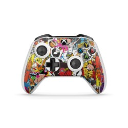 XBOX ONE S Controller - Stickerbomb Color Skin von EpicSkin