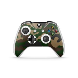 Skin XBOX ONE S  Controller - Camouflage Green
