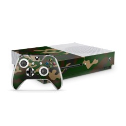 Skin XBOX ONE S Bundle - Camouflage Green