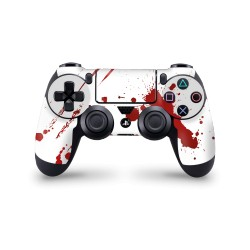 Skin PS4  Controller - Zombie Blood