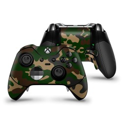 Skin XBOX ONE Elite  Controller - Camouflage Green
