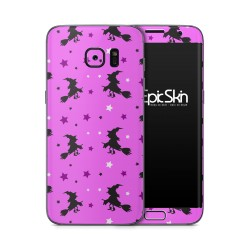 Galaxy S7 Edge Skin Witch Pinkl