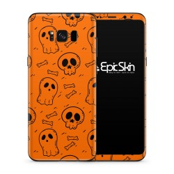 Galaxy S8 Plus Skin Bone