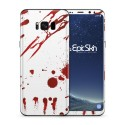 Galaxy S8 Plus Skin Zombie Blood White