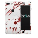IPhone 7 Plus Skin  Zombie Blood White