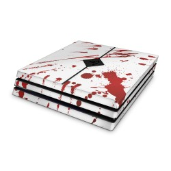 Sony Playstation 4 Pro Skin - Zombie Blood Design Aufkleber von Epic Skin