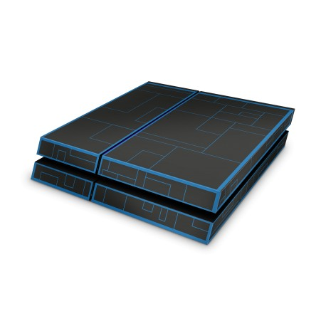 Sony Playstation 4 Skin - Tron Blue Design Aufkleber von Epic Skin