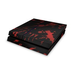 Sony Playstation 4 Skin - Blood Black Design Aufkleber von Epic Skin