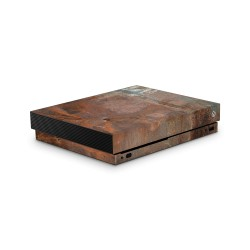 XBOX ONE X Skin - Design Aufkleber Rust
