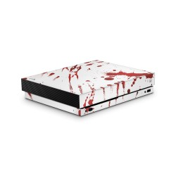 XBOX ONE X Skin - Design Aufkleber Zombie Blood