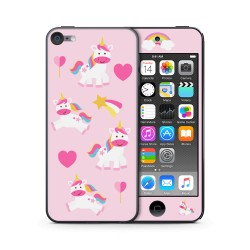 Unicorn Love Design Folien für Smartphones für Apple IPod Touch 6 von EpicSkin