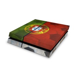 Sony Playstation 4 Skin - Portugal Fussball Design Aufkleber von Epic Skin