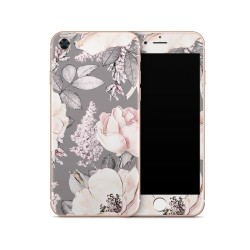 Apple IPhone 8 Skin - Flower Grey Design Aufkleber von Epic Skin