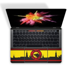 Mac Book Pro 13 Touch Bar Tastatur Skin - SCB Fan Design Aufkleber von Epic Skin