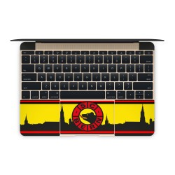 Mac Book Air 12 Tastatur Skin - SCB Fan Design Aufkleber von Epic Skin