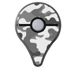 Pokemon GO Plus Skin - Camouflage Grey Aufkleber