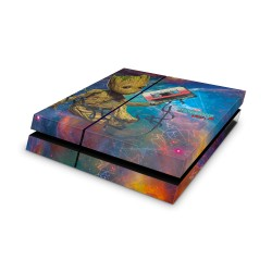 PS4 Skin - Marvel Design Aufkleber Guardiens of the Galaxy - I am Groot