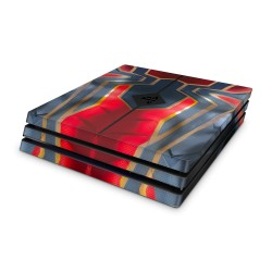 PS4 Pro Skin Marvel Design Aufkleber Avengers - Iron Spider