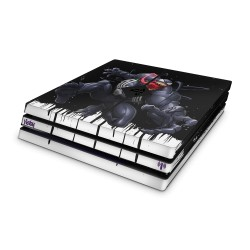 PS4 Pro Skin - Marvel Design Aufkleber Spider Man - Venom