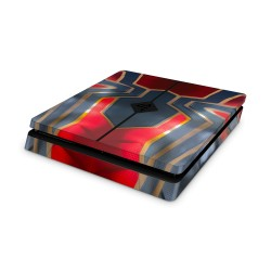 PS4 Slim Skin - MarvelDeisgn Aufkleber Avengers - Iron Spider