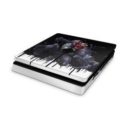 PS4 Slim Skin - Marvel Design Aufkleber Spider Man - Venom