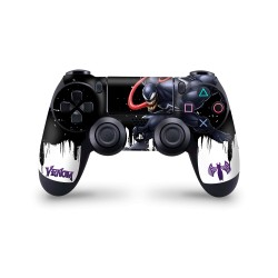 PS4 Controller Skin - Marvel Design Aufkleber Spider Man - Venom