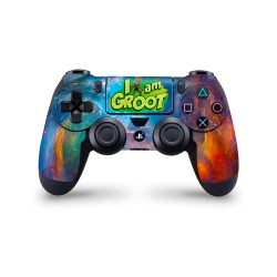 PS4 Controller Skin - Marvel Design Aufkleber Guardiens of the Galaxy - I am Groot