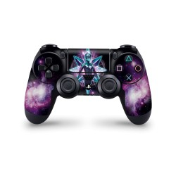 PS4 Controller Skin - Marvel Design Aufkleber Captain Marvel - CM Space