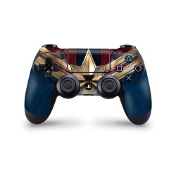 PS4 Controller Skin - Marvel Design Aufkleber Captain Marvel - Captain Marvel