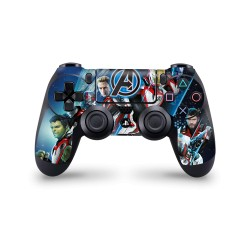 PS4 Controller Skin - Marvel Design Aufkleber Avengers Endgame - Space
