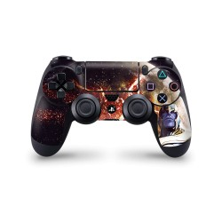 PS4 Controller Skin - Marvel Design Aufkleber Avengers Endgame - Thanos Space