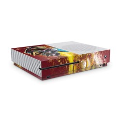 Xbox One S Skin - Marvel Deisgn Aufkleber Avengers Endgame - Red Attack